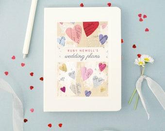 Personalised Wedding Engagement Notebook