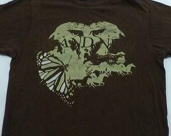 "Concert t shirt from the band ""brand new""  from deja entendu  tour"