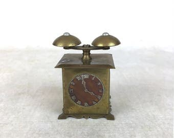 Antique or vintage doll sized alarm clock