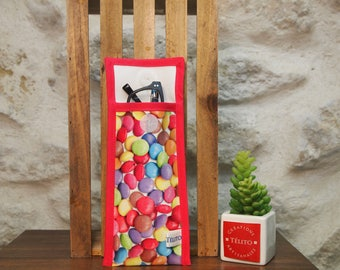Glasses case in oilcloth candy