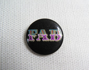 Vintage Early 80s Fad Gadget - Incontinent Album (1981) Pin / Button / Badge