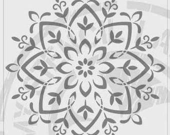 Mandala Stencil #424