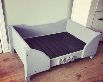 Handmade Wooden Dog Bed - Made To Order