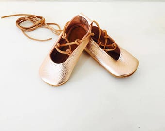 Gladiators, Gold rose gladiators, sandals, lace up, baby sandals, soft soled shoes, baby shoes, newborn, baby shoes, baby girl shoes