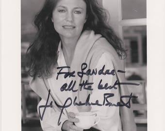 Jacqueline Bisset Original Vintage Hand Signed 8X10 Autographed Photo