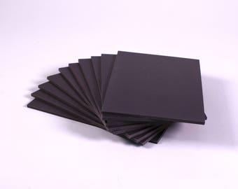Super Soft Lino Blocks 300mm x 300mm Double Sided Grey Printing Lino Blocks Choose Quantity