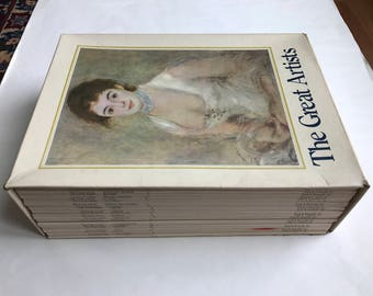 The Great Artists, A Library of Their lives, Times and Paintings, Complete box set of 25, 1978