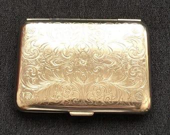 Vintage Silverplate Cigarette Case