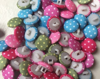 80 buttons fancy woven 14mm pea