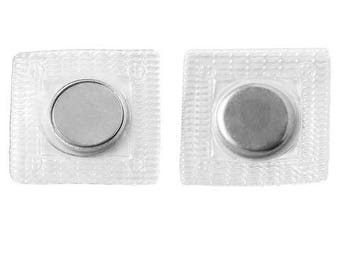 3/4 Inch Neodymium Plastic Covered Disc Sewing/Craft Magnets N35 (30 Pack)