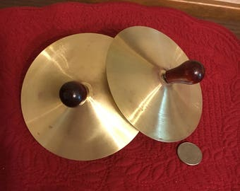 Children's Brass Toy Cymbals