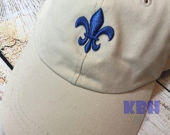 Fleur de Lis Hat / NOLA Hat