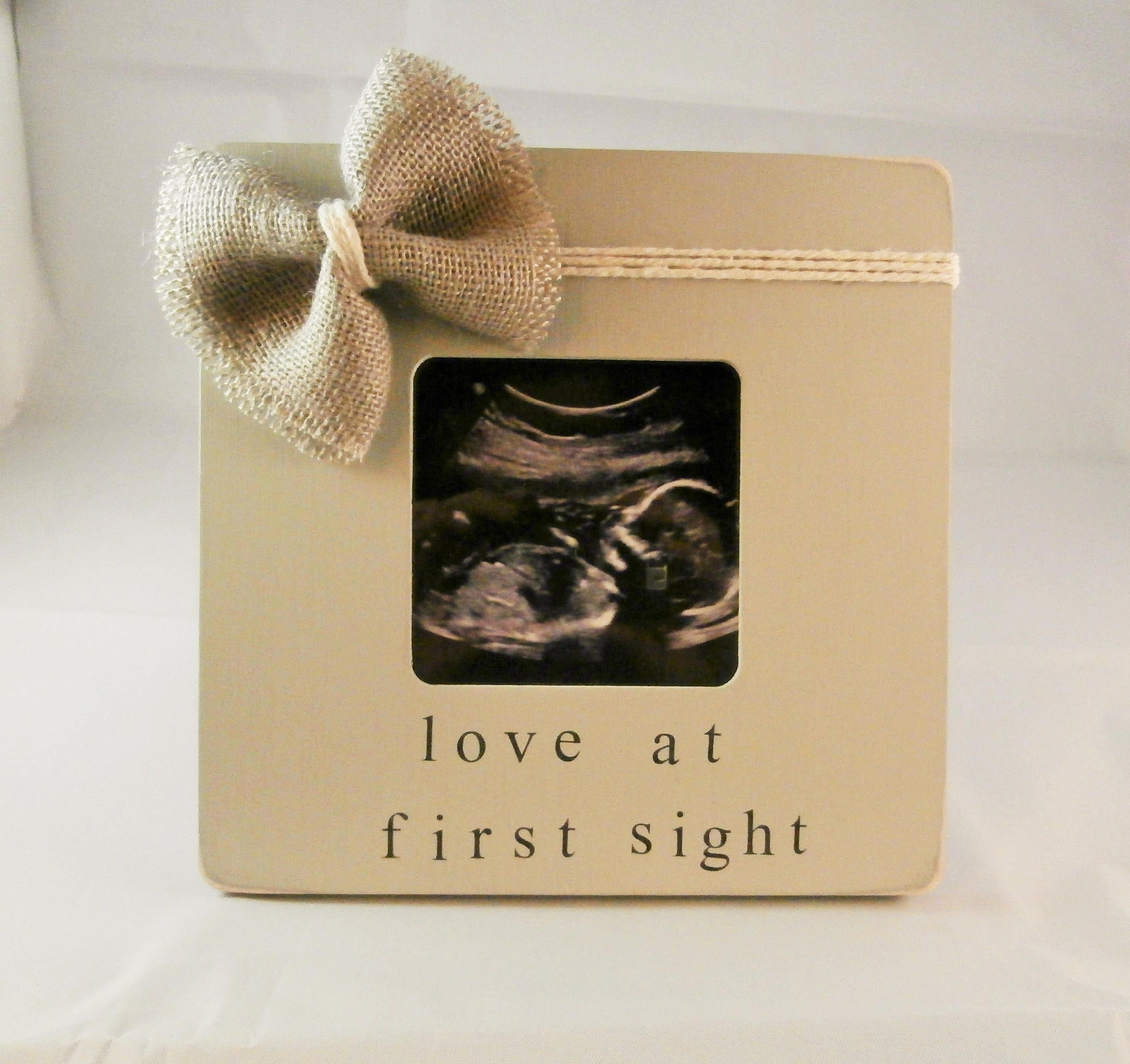 Baby Shower Gift Ideas Sonogram Picture Frame Christmas