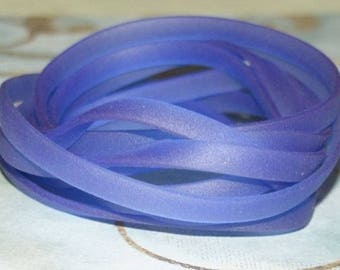Purple plastic burna headband transparent 50 cm