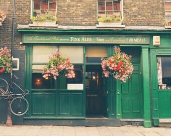 London Pub, Borough Market, England Pub, London Print, London Wall Art, Kitchen Decor, Office Decor, Travel Decor, Britain, UK