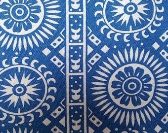 traditional Chinese fabric blue rond10m