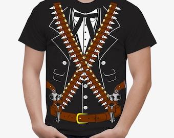 TEEN KIDS Bandido Pistolero Bandolero Mariachi Cinco de Mayo Costume T-Shirt T-Shirt