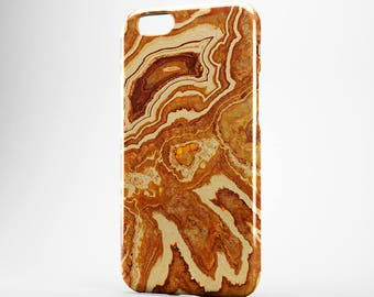 iPhone X Case Marble iPhone 7 Case Agate iPhone 6 Case iPhone 8 Plus Brown iPhone 6 Plus Case iPhone 6S iPhone 5 iPhone SE Case Galaxy S7 S8