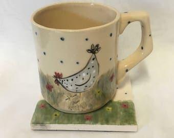 Mug/ coaster gift set