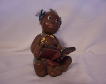 """Black Americana Melly & Dolly """"Best of Friends"""" Figurine"""
