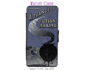 Harry Potter Advanced Potion Making Book iPhone 6 Case - Harry Potter Advanced Potion Making Book iPhone 6 Wallet Case