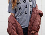 Mom Hustle, Mother Hustler, Mom Life Is The Best Life, Mother Hustler, Wife Mom Boss, Funny Mom Shirt, Mom Gift, Motherhood Shirt, Mom Shirt