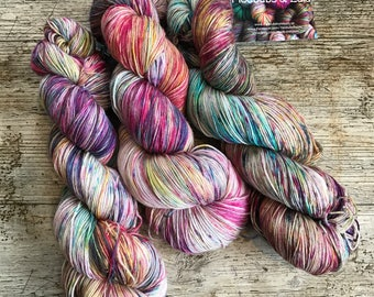 Starlings - UK Hand Dyed Yarn - 425