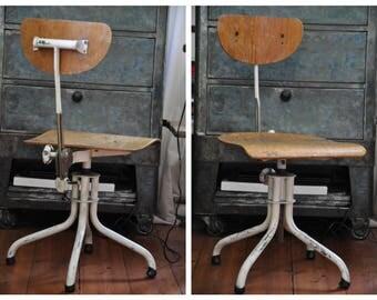 Chaises de bureau Vintage Etsy FR