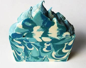 Bar of Soap - Handcrafted Item - Swirled Soap - Gift for Women - Cute Soap - Decorative Soap - Handcrafted Bar - Jammin Rock Candy - Artisan
