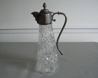 Vintage Claret Jug with Bacchus Spout by Falstaff of England.
