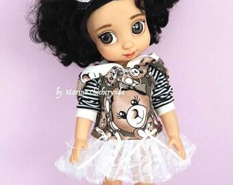 3pcs. Disney animator doll clothes