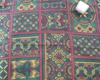 vintage length of silk dressmaking fabric