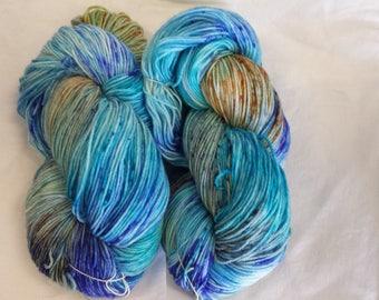 CC17/483 Handdyed Sock Yarn 4ply