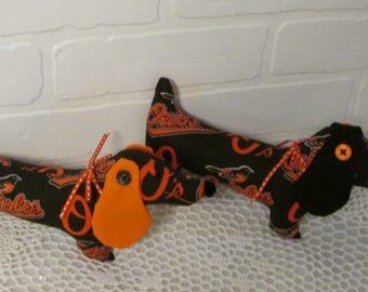 Baltimore Orioles, Orioles, Dachshunds, Wiener Dog, Doxie, Sausage Dog, Kids Toys, stuffed animals,sports, toys, Orioles fans, MLB, Dogs
