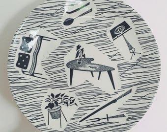 Ridgway Homemaker side plate 1960s
