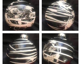 Fear and Loathing in Las Vegas - Hunter S Thompson - Ralph Steadman Christmas Ornament