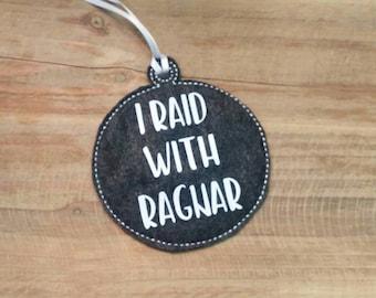 I Raid With Ragnar Vikings Ornament