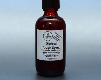 Herbal Cough Syrup, Health, Herbal, Natural, Handmade