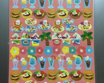 Hawaii Gelato and Food Stickers - Reference C3910