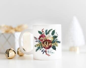 Merry Christmas Mug, Christmas Gift, Funny Christmas Mug, Holiday Gift, Holiday Mug, Christmas Mug, Christmas Gifts, Mug