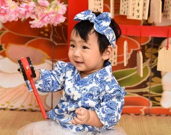 chinese  cheongsam romper tutu handmade for baby gift set