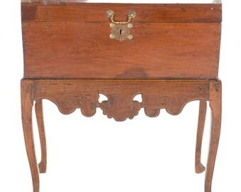 20% Off Dome Top Antique Asian Chest On Stand, Storage Trunk, Antique
