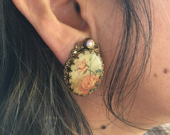 Vintage W. Germany Earrings