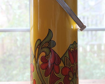 Vintage 1950s Insulated Pump Vacuum Bottle Air Pot Hot Cold Drink Serve Thermos