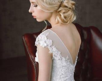20%OFF- Wedding Headpiece, Bridal Hair Piece,Bridal Headpiece, Wedding Hairpiece, Crystals Hair Vine, Bridal Hairpiece, Wedding Halo