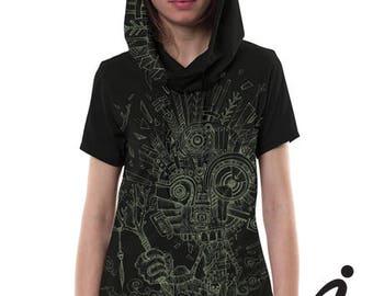 WOOD SPIRIT Women shirt- Sand or Black