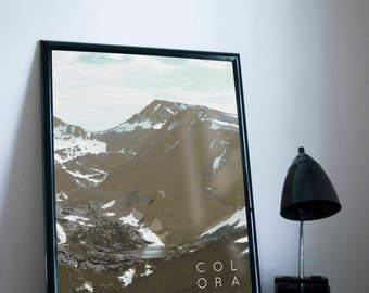 Colorado Rockies Poster 11x17 18x24 24x36