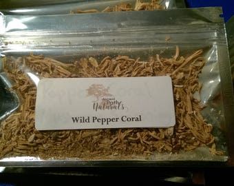 Pepper Coral Mushroom Seasoning 2 packs, Wild Food, Foraged Edible Culinary Mushroom, Wild Harvested, Sustainable, Great Flavor, Organic