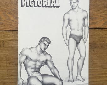 Scarce Physique Pictorial with Tom of Finland Cover, August 1963