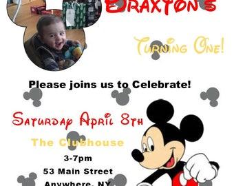20 Kid's Birthday Invitation Printed